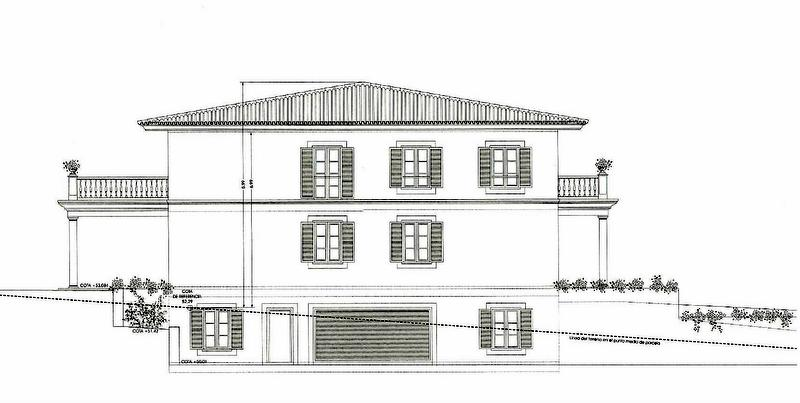 Construcciones-ramos-levante-alzado lateral-garaje