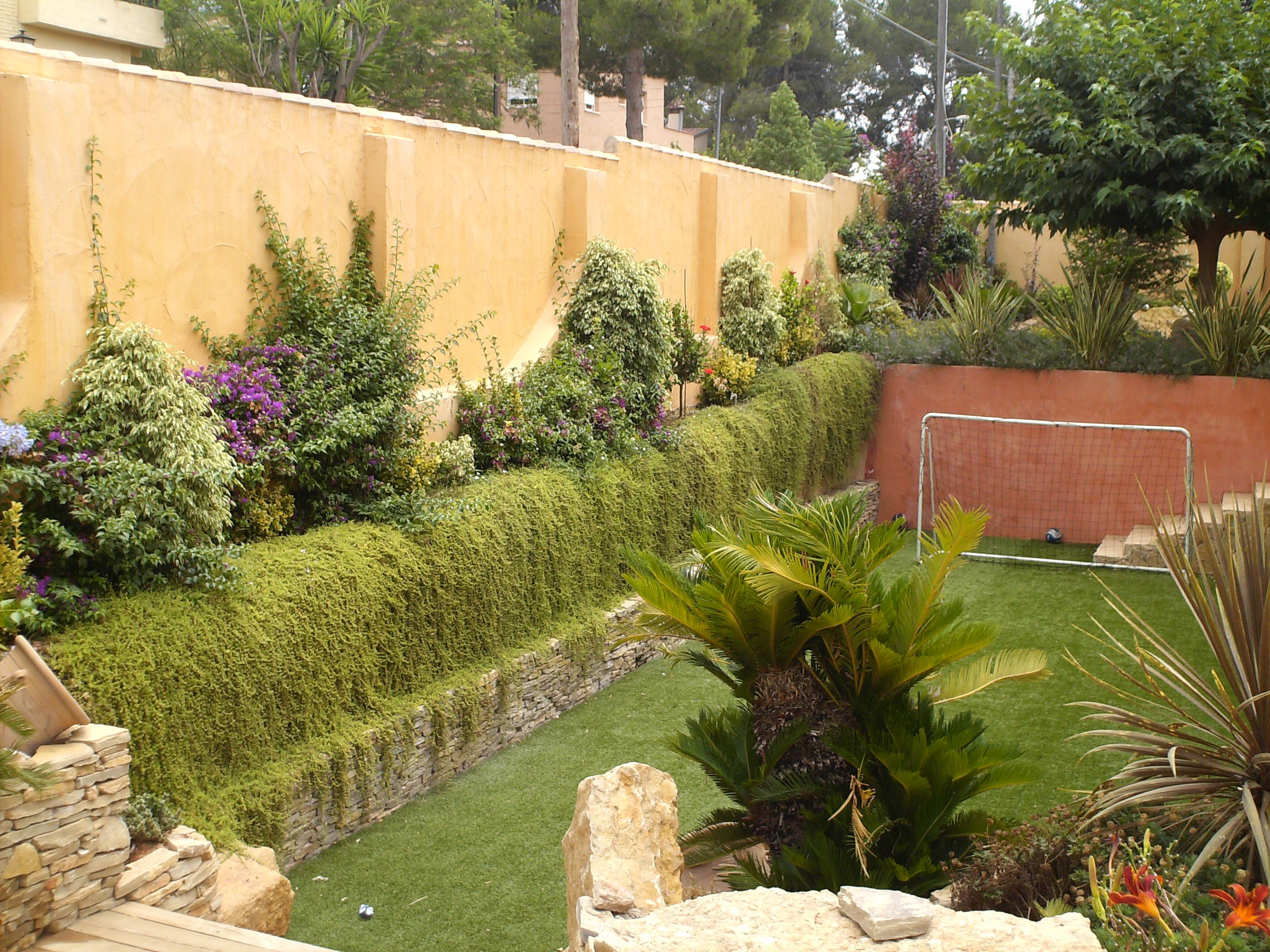 Jardines de exterior dise os arquitect nicos for Jardines exteriores